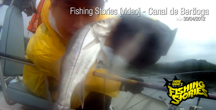 Fishing Stories [video] @ Canal de Bertioga