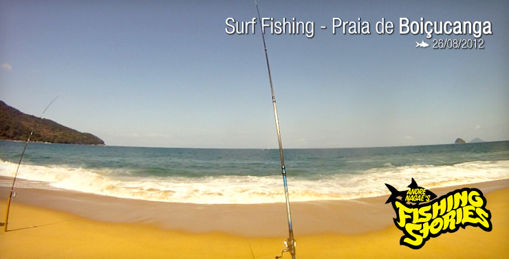 Surf Fishing – Praia de Boiçucanga