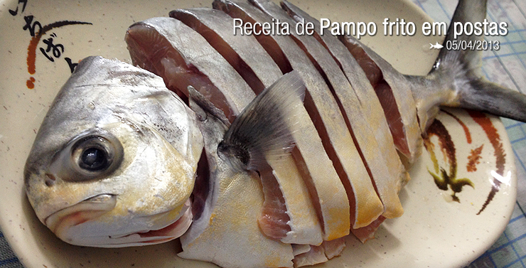 [Cooking Stories] Pampo frito em postas
