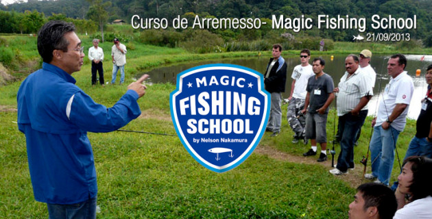 Magic Fishing School – Curso de Arremesso (21/09/2013)