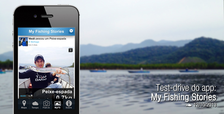 Test-drive do app: My Fishing Stories