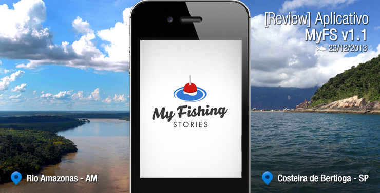 [Review] Aplicativo My Fishing Stories